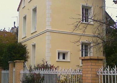 Isolation thermique façade – Pavillon – Chelles